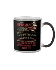 Firefighter Husband Your Warm Heart And Soul Color Changing Mug thumbnail