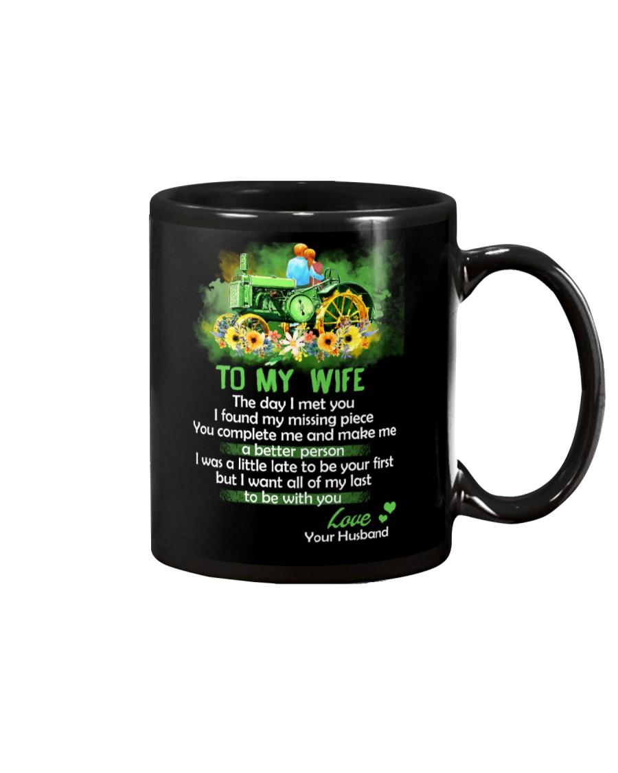 The Day I Met You My Missing Piece Farmer Mug