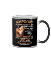 I Love You To The Moon Horse Color Changing Mug thumbnail