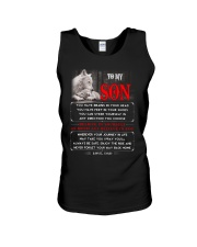 Wolf Dad Son Brains In Your Head Unisex Tank thumbnail