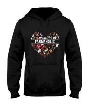 I Am A Farmaholic Hooded Sweatshirt thumbnail