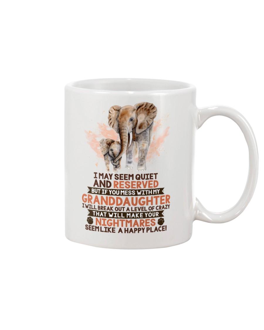 I May Seem Quiet And Reserved Elephant Mug