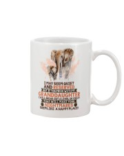 I May Seem Quiet And Reserved Elephant Mug front