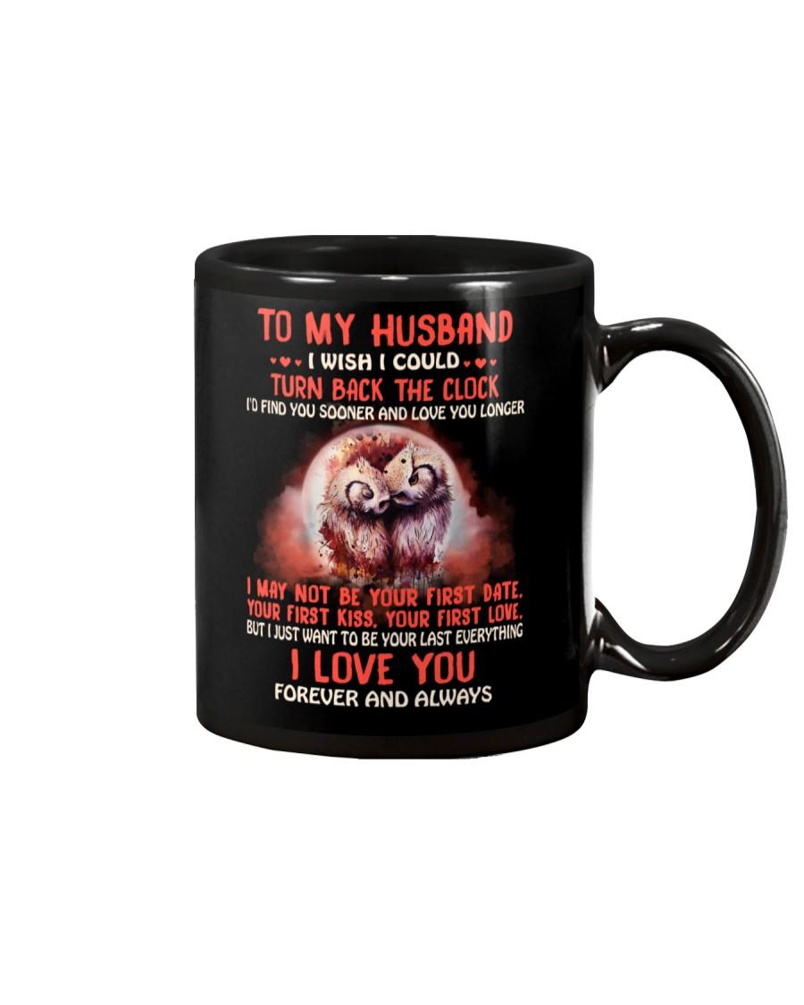 I Wish I Could Turn Back The Clock Owl Mug