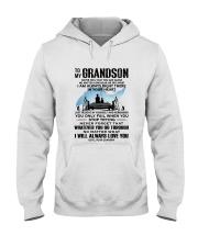 FISHING GRANDSON GRANDPA NEAR OR FAR APART Hooded Sweatshirt thumbnail