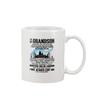 FISHING GRANDSON GRANDPA NEAR OR FAR APART Mug front