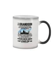 FISHING GRANDSON GRANDPA NEAR OR FAR APART Color Changing Mug thumbnail