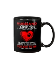 Dog Ability To See Yourself Husband Mug front