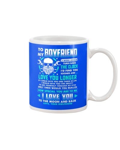Mechanic Boyfriend Clock Ability Moon Mug