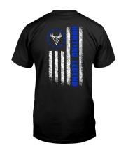 HUNTING LEGEND BETSY ROSS FLAG V1 Classic T-Shirt back
