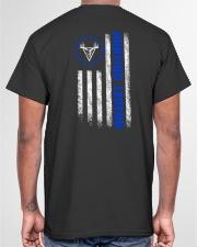 HUNTING LEGEND BETSY ROSS FLAG V1 Classic T-Shirt garment-tshirt-unisex-back-04
