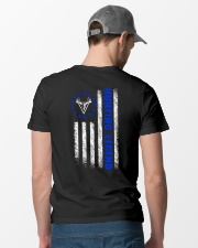 HUNTING LEGEND BETSY ROSS FLAG V1 Classic T-Shirt lifestyle-mens-crewneck-back-6