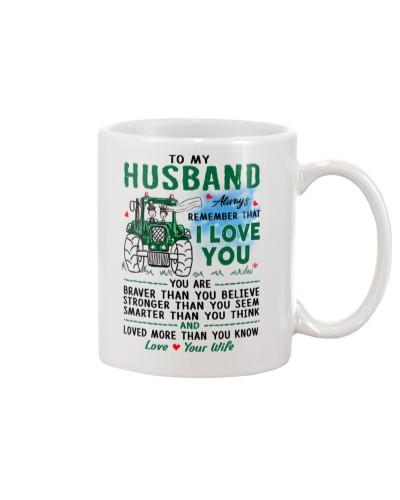 Farmer Husband I Love You