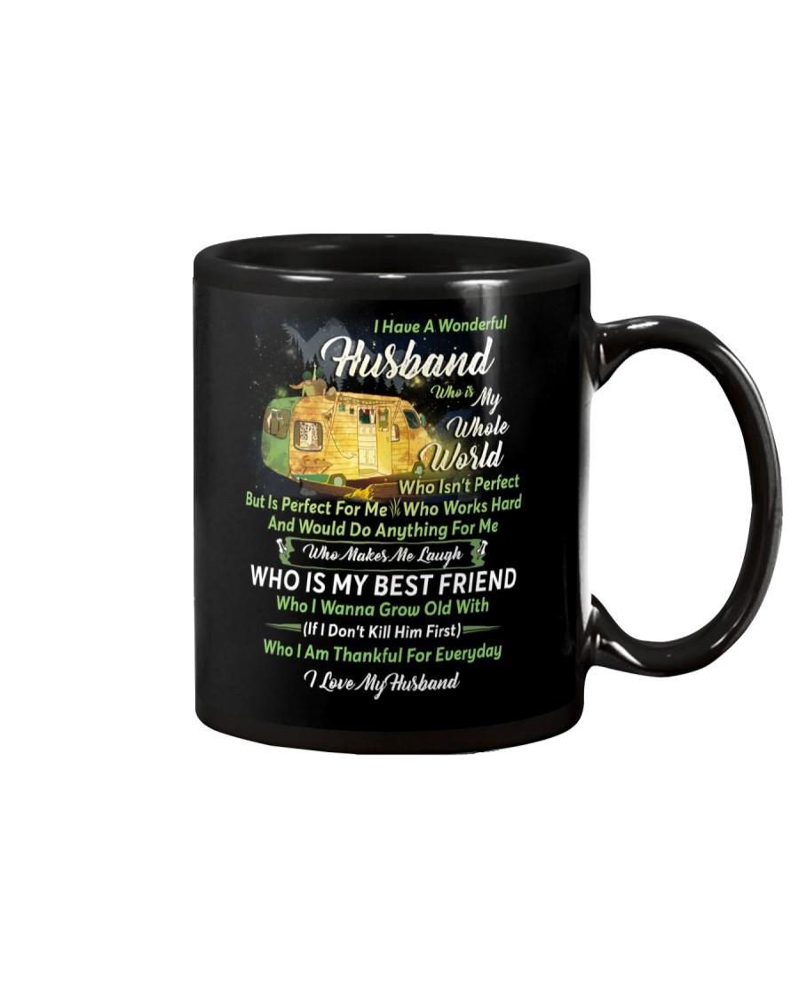 I Have A Wonderful Husband Camping Couple Mug