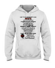 I Give You My Promise  Firefighter Wife Hooded Sweatshirt thumbnail