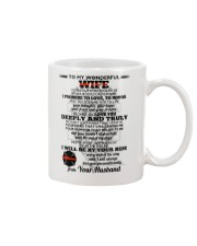 I Give You My Promise  Firefighter Wife Mug front