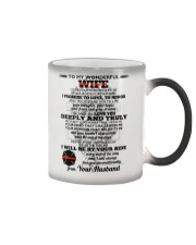 I Give You My Promise  Firefighter Wife Color Changing Mug thumbnail