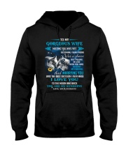 Meeting You Was Fate Wolf Hooded Sweatshirt front