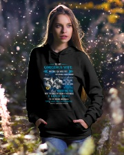 Meeting You Was Fate Wolf Hooded Sweatshirt lifestyle-holiday-hoodie-front-5