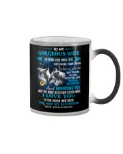 Meeting You Was Fate Wolf Color Changing Mug thumbnail