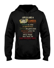 Life Is Like Camera Photography Hooded Sweatshirt thumbnail