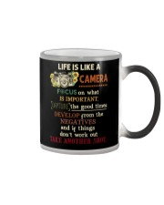 Life Is Like Camera Photography Color Changing Mug thumbnail