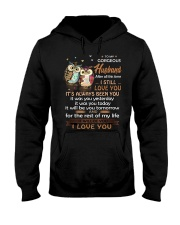 After All This Time I Still Love You Owl Hooded Sweatshirt thumbnail
