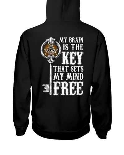FREEMASON MY BRAIN IS THE KEY