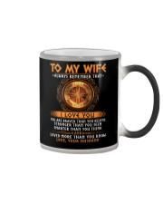 Viking I Love You Wife Color Changing Mug thumbnail