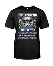 Wolf I Choose You Boyfriend Classic T-Shirt thumbnail
