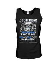Wolf I Choose You Boyfriend Unisex Tank thumbnail