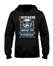 Wolf I Choose You Boyfriend Hooded Sweatshirt thumbnail