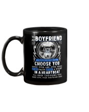 Wolf I Choose You Boyfriend Mug back