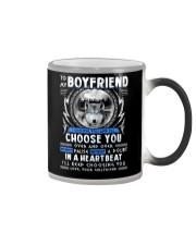 Wolf I Choose You Boyfriend Color Changing Mug thumbnail