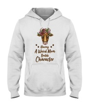 Having A Weird Mom Builds Character Cow Hooded Sweatshirt thumbnail