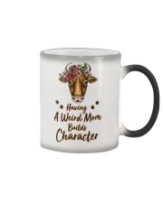 Having A Weird Mom Builds Character Cow Color Changing Mug thumbnail