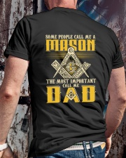 FREEMASON CALL ME DAD GG Classic T-Shirt lifestyle-mens-crewneck-back-2