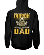 FREEMASON CALL ME DAD GG Hooded Sweatshirt thumbnail