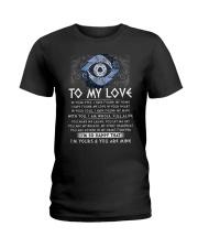 I'm Yours My Love Viking Ladies T-Shirt thumbnail