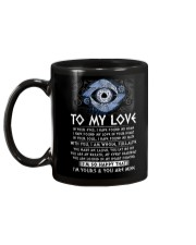 I'm Yours My Love Viking Mug back
