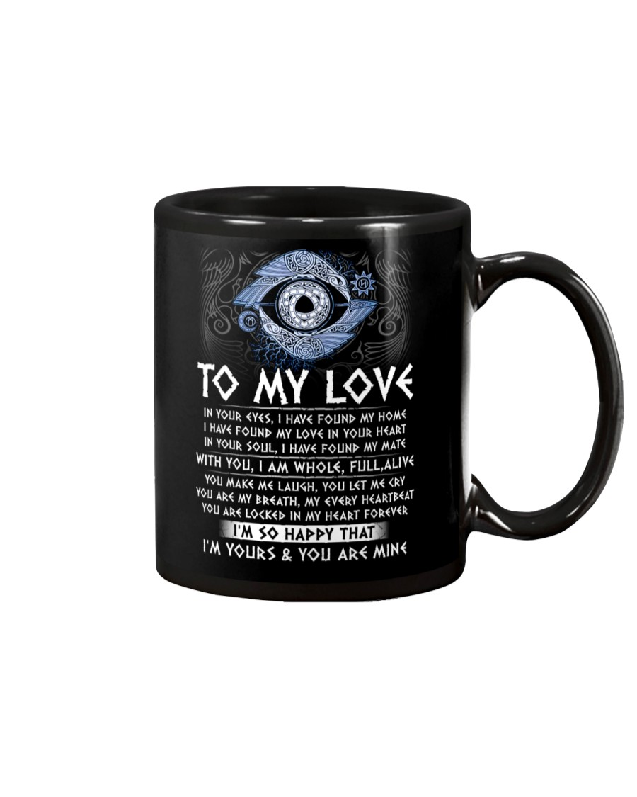 I'm Yours My Love Viking Mug