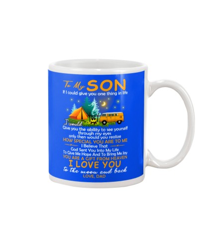 Camping Son Dad A Gift From Heaven