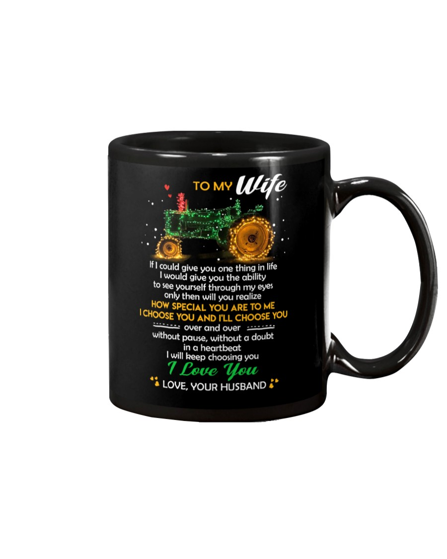 If I Could Give You One Thing In Life Farmer Mug