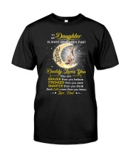 Whippet Daughter Dad Daddy Loves You Classic T-Shirt thumbnail