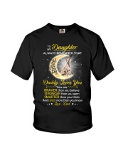 Whippet Daughter Dad Daddy Loves You Youth T-Shirt thumbnail