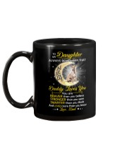 Whippet Daughter Dad Daddy Loves You Mug back