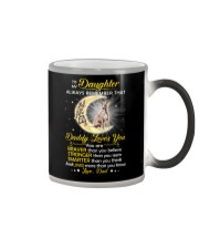 Whippet Daughter Dad Daddy Loves You Color Changing Mug thumbnail