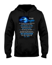 When Life Gets Hard And You Feel All Alone Family Hooded Sweatshirt tile