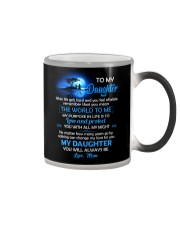 When Life Gets Hard And You Feel All Alone Family Color Changing Mug tile