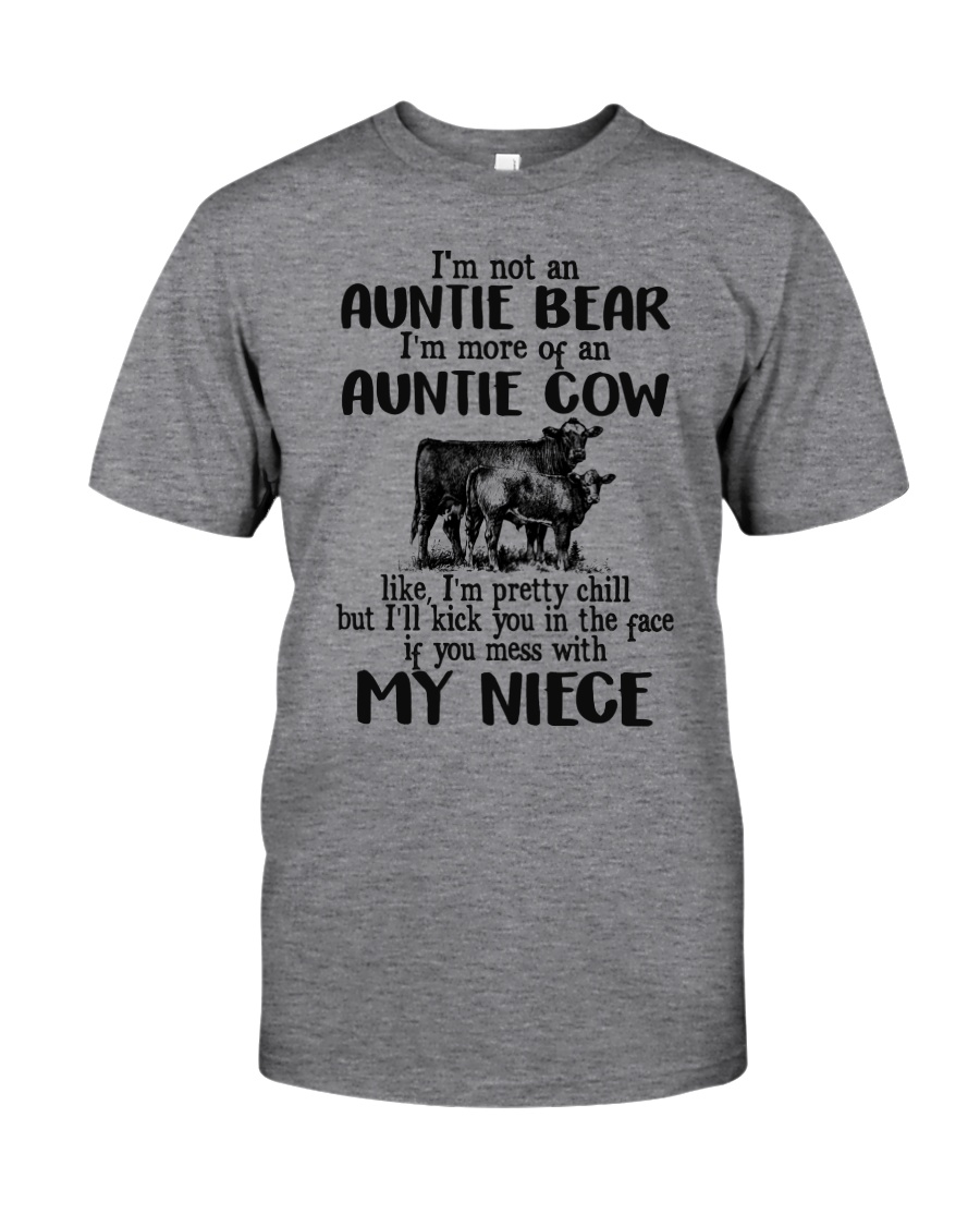 I'm More Of An Auntie Cow Classic T-Shirt